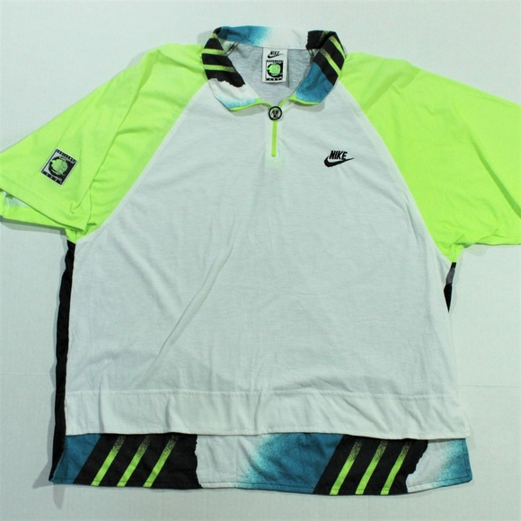 a144d5bf Vintage Nike Andre Agassi Challenge Court Polo Zip.  M_5bca70b52e147817879a0598